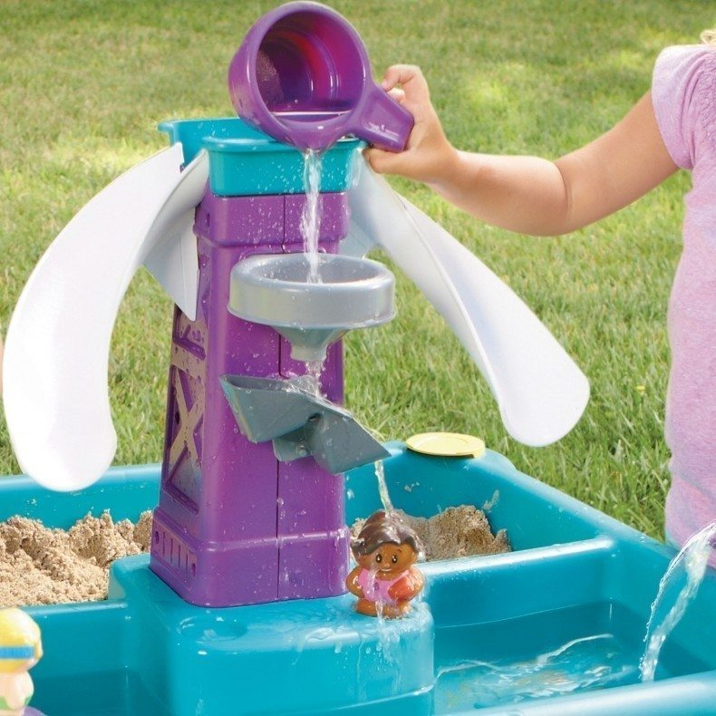 Little Tikes Sandy Lagoon Kids Sand and Water Table | Buy ...