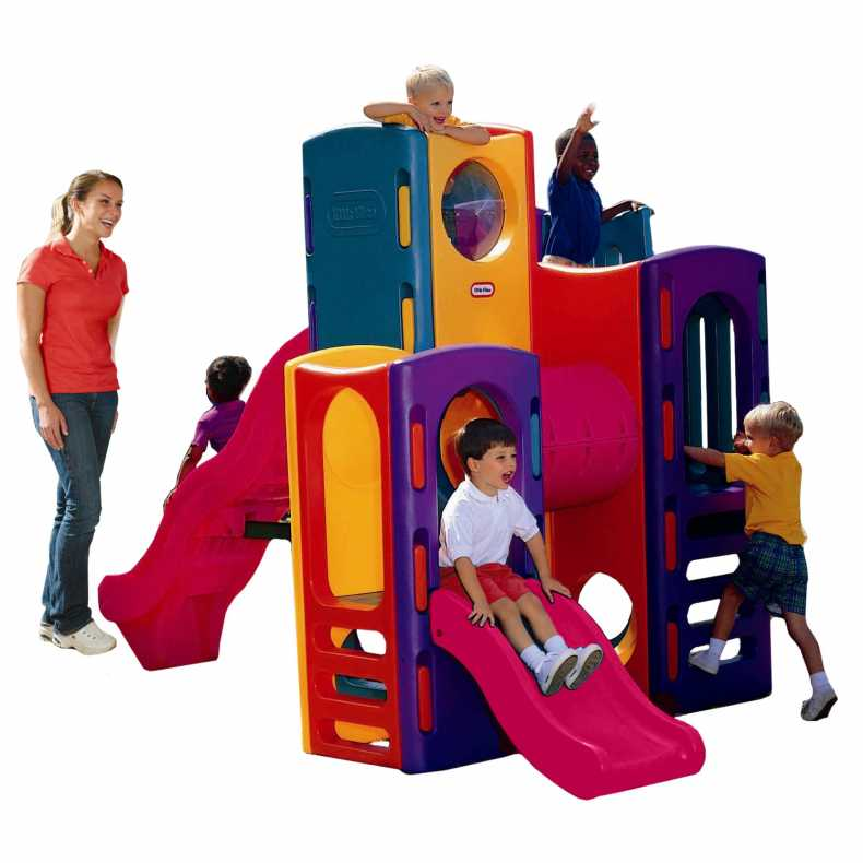 Little Tikes Outdoor Playground Gym With Slides Buy