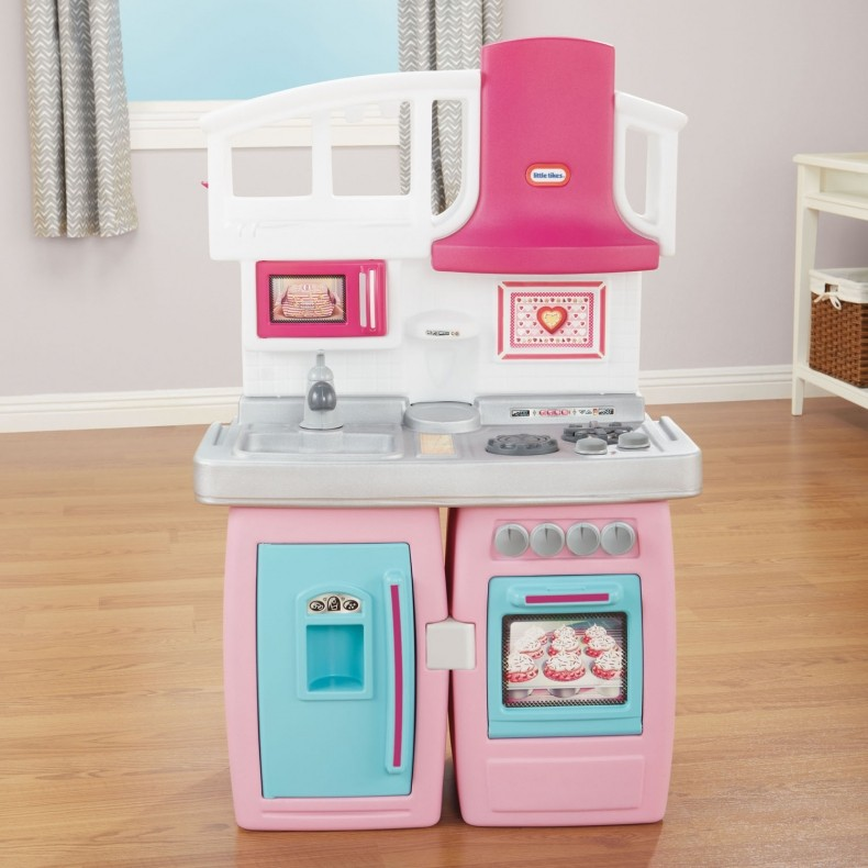 Little Tikes Bake N Grow Kids Kitchen In Pink Buy Play