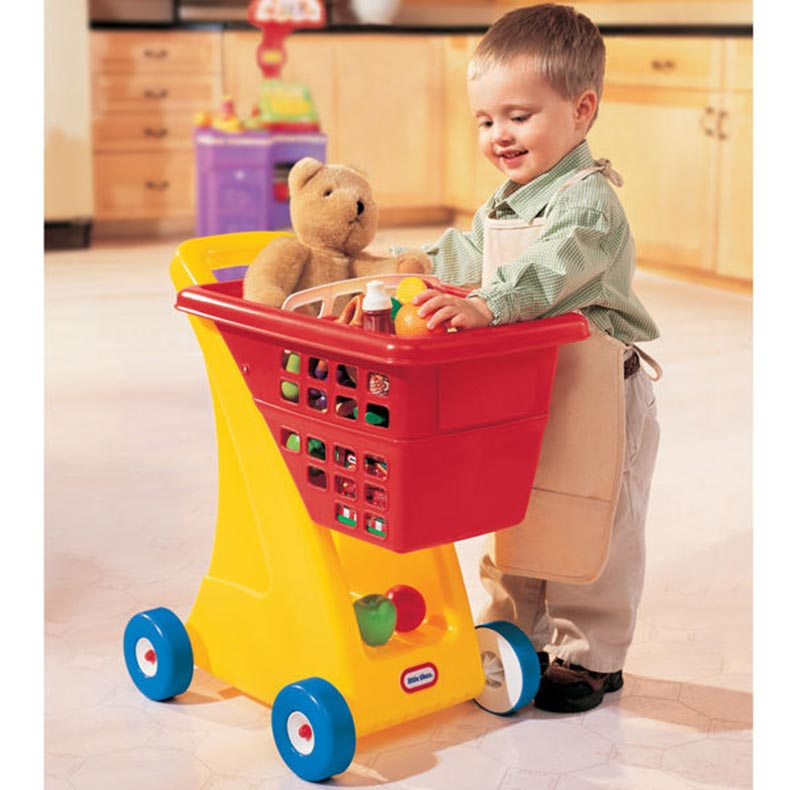 little tikes kids plastic toy shopping cart in red buy pretend shopping 0 50743 61242 8. Black Bedroom Furniture Sets. Home Design Ideas