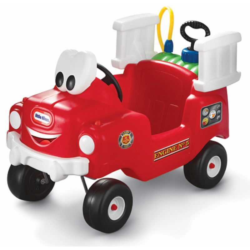 Little tikes spray rescue fire truck ride on car buy for Little tikes motorized vehicles