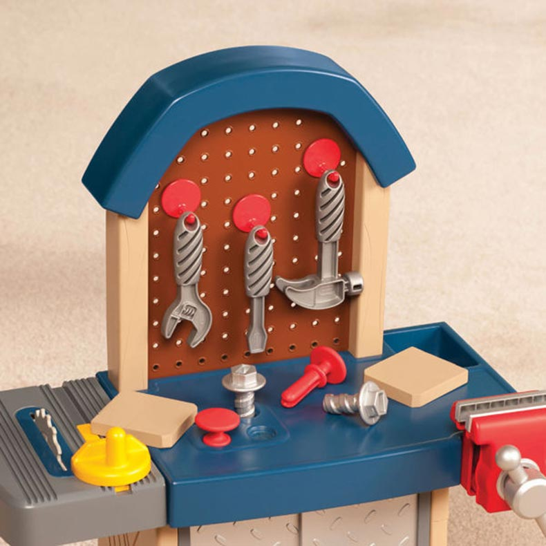 Little Tikes Kids Tough Jobs Workshop Workbench Buy Toy Workshops Tools