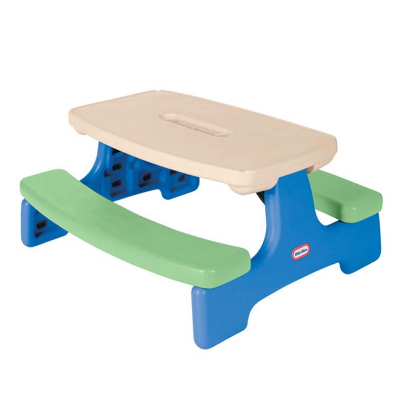 Little Tikes Large Kids Table With Umbrella Buy Outdoor