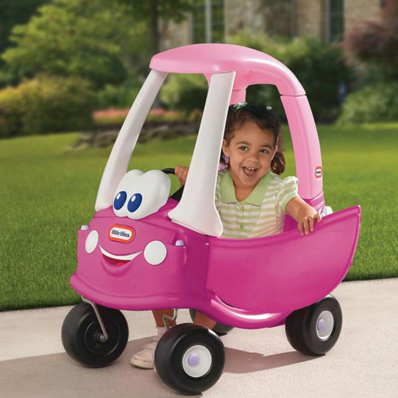Little Tikes Cozy Coupe Princess Ride On Car Pink