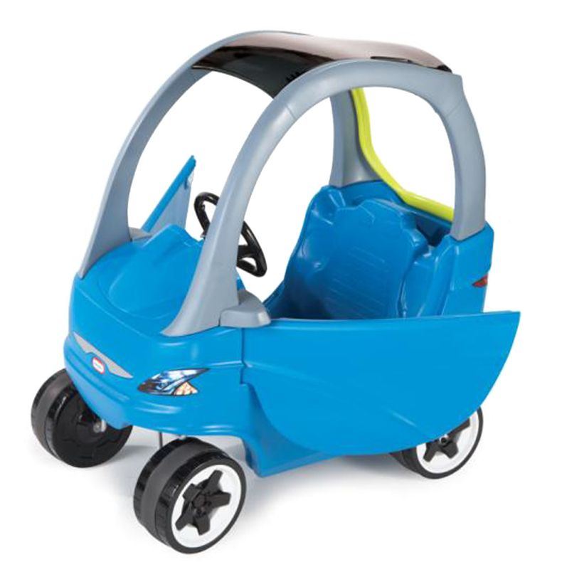 Little tikes cozy coupe sport ride on car blue buy ride for Little tikes motorized vehicles