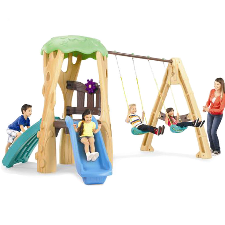 Little Tikes Tree House Swing Set Climber Amp Slide Buy