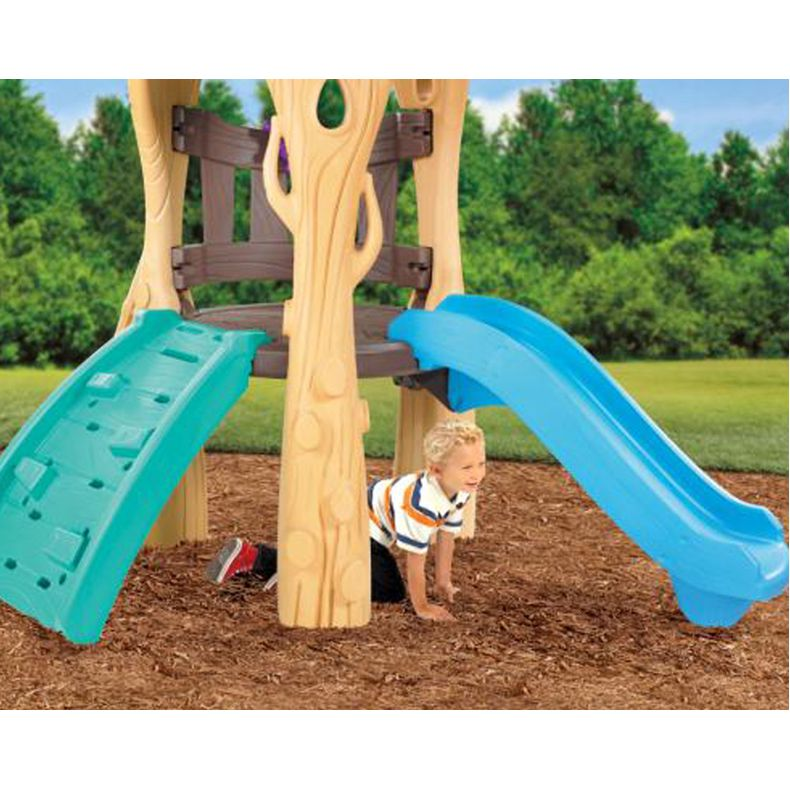 Little tikes tree house swing set climber slide buy for Tree house swing set