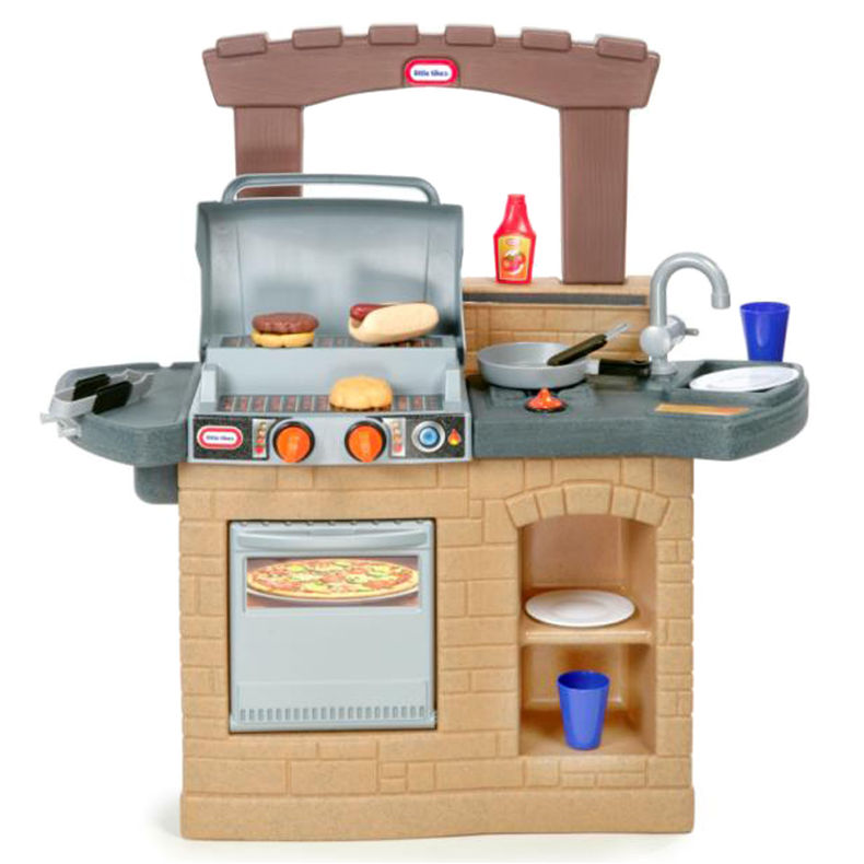 Little Tikes Cook 39 N Play Outdoor Bbq Play Kitchen Buy Play Kitchens