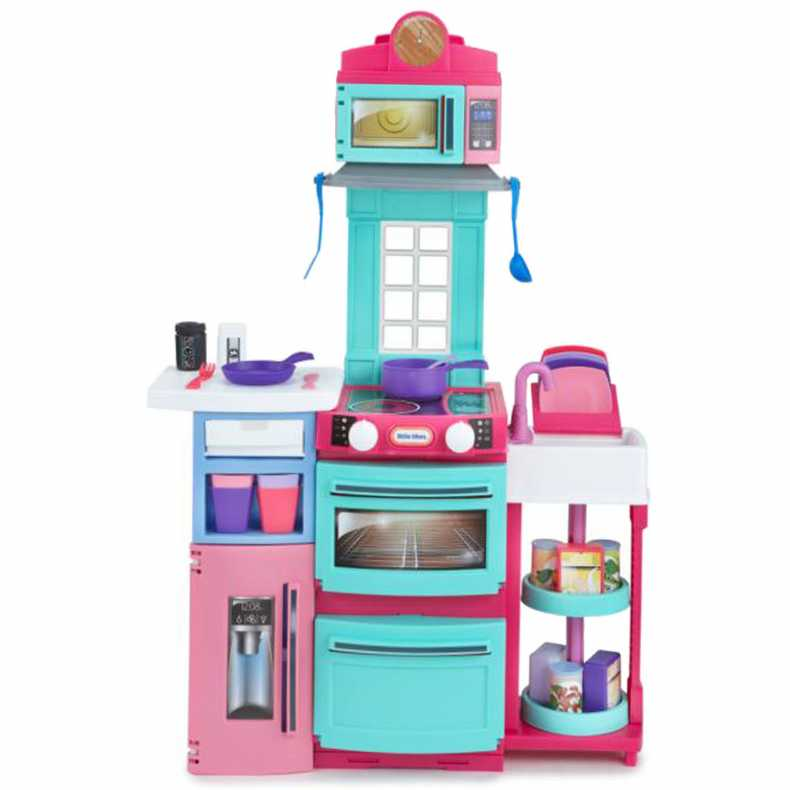 little tikes cook 39 n store kids play kitchen pink buy. Black Bedroom Furniture Sets. Home Design Ideas