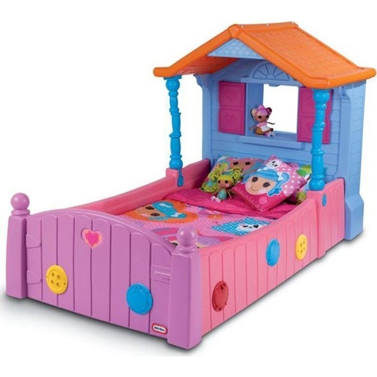 Little Tikes Lalaloopsy Toddler Kids Single Bed