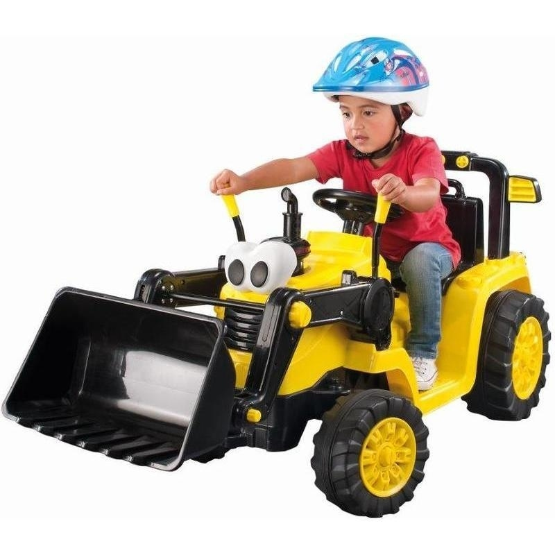 Little Tikes Digger Tractor Ride On Car Yellow 12v Buy