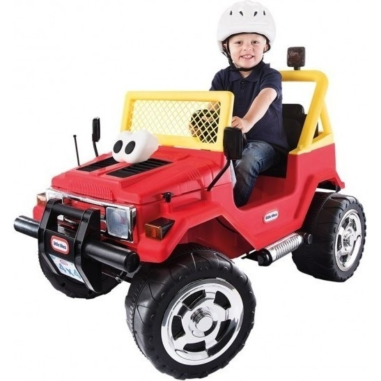 little tikes 4x4 jeep electric ride on car 12v buy ride
