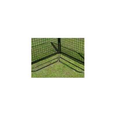 8x K9 Metal Dog Fence Anti Dig Bars 1.8m