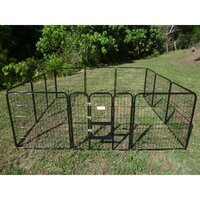Pet Outdoor Run Exercise 12 Panel Playpen 80cm