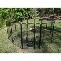 Pet Outdoor Run Exercise 14 Panel Playpen 120cm