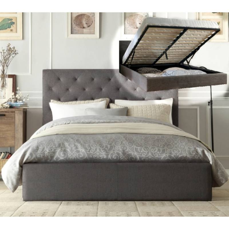 King Size Bed Frame Gas Lift