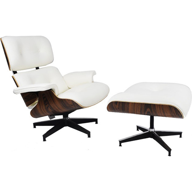 Replica eames chair and ottoman in bonded leather buy chair ottoman sets - Eames lounge chair and ottoman reproduction ...
