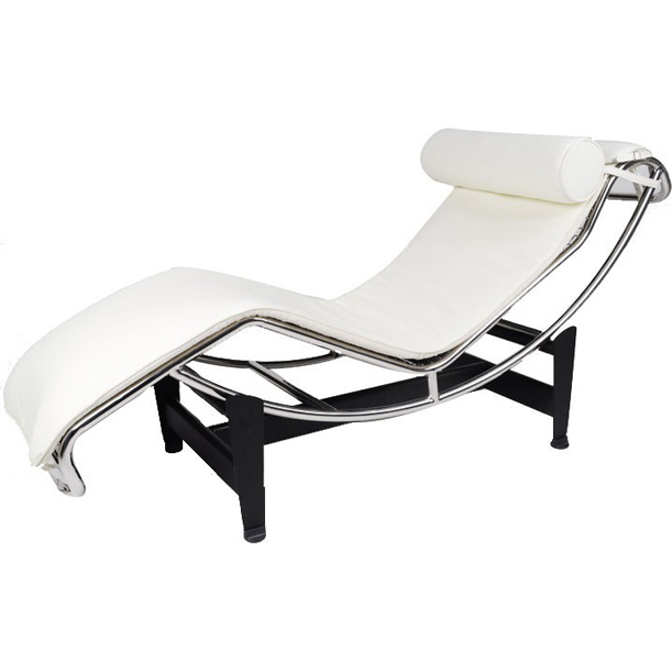 Le corbusier replica bonded leather chaise lounge buy for Le corbusier replica