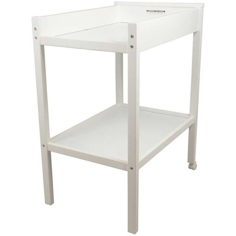 07dcd67b2178 Childcare 2 Tier Wooden Baby Change Table in White | Buy Changing ...
