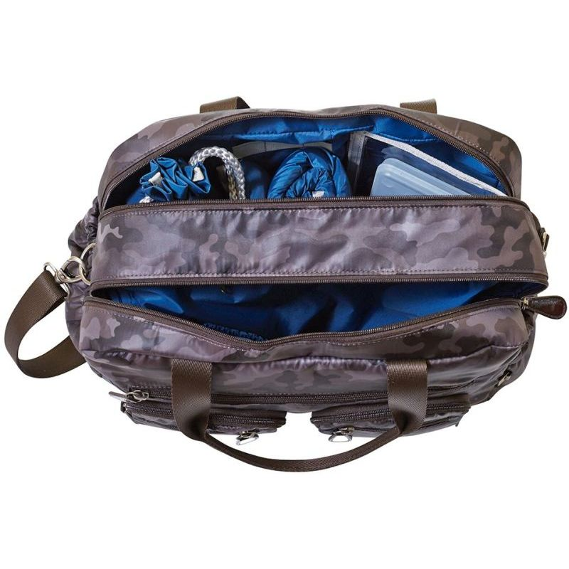 Oioi Carry All Baby Diaper Nappy Bag Charcoal Camo Buy