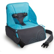 Brica Go-Boost Travel Booster Seat w Xtra-Grip Pads