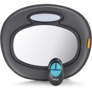 Brica Baby In Sight LED Car Musical Mirror w Remote