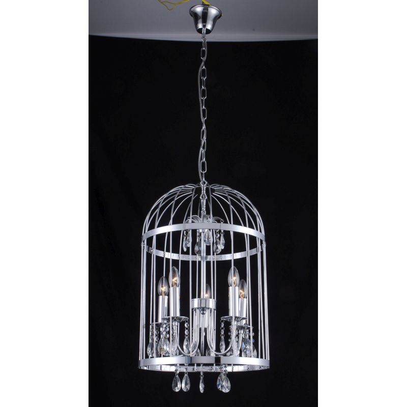 modern metal birdcage ceiling light chandelier buy lighting. Black Bedroom Furniture Sets. Home Design Ideas