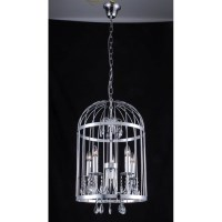 Modern Metal Birdcage Ceiling Light Chandelier
