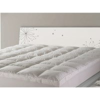 Queen Size Microfibre Mattress Topper 1000GSM
