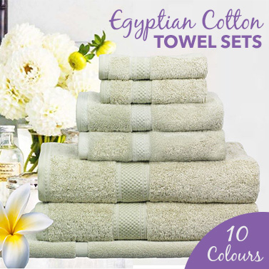 Ramesses 100% Egyptian Cotton Towel Sets  sc 1 st  MyDeal & Ramesses 100% Egyptian Cotton Towel Sets | Buy Towels