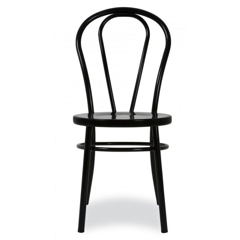 Buy Dining Chair: Replica Bentwood Metal Dining Chair W Cushion Black