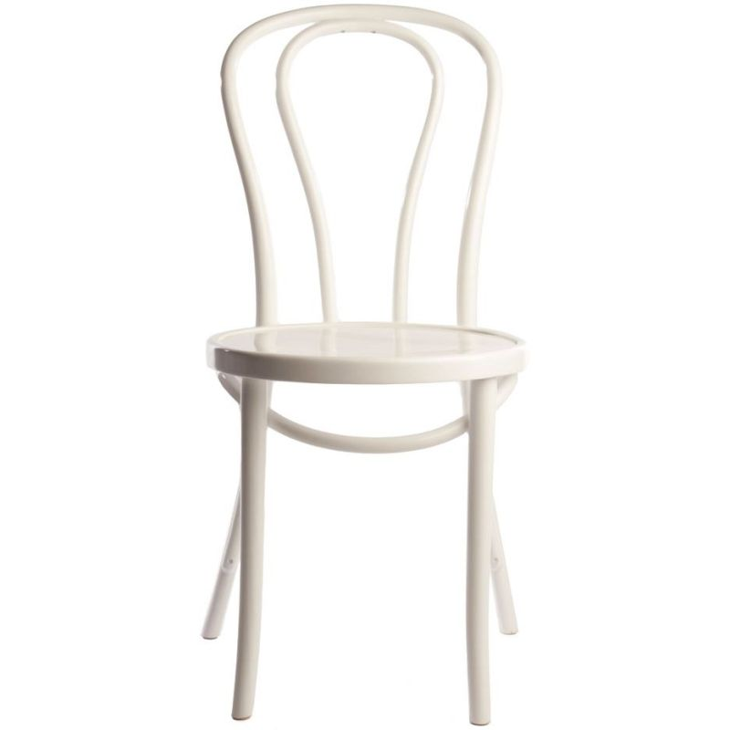 Vintage replica thonet bentwood dining chair white buy for Thonet replica chair