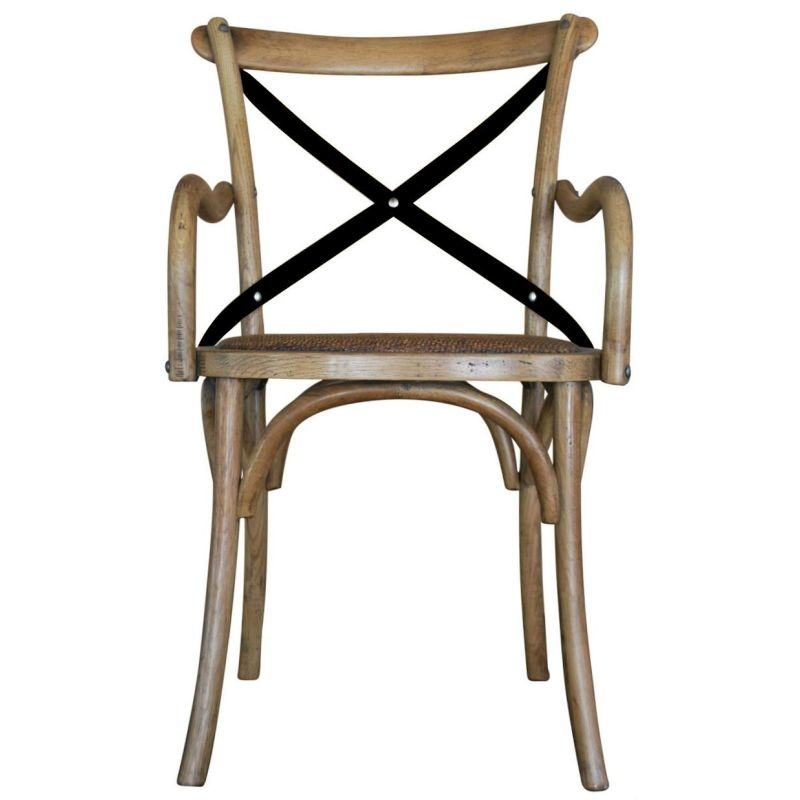 provincial carver metal iron cross back dining chair buy dining chairs 180866. Black Bedroom Furniture Sets. Home Design Ideas