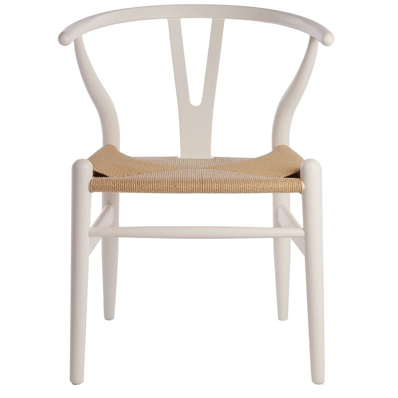 vintage replica hans wegner wishbone chair in white buy dining chairs. Black Bedroom Furniture Sets. Home Design Ideas
