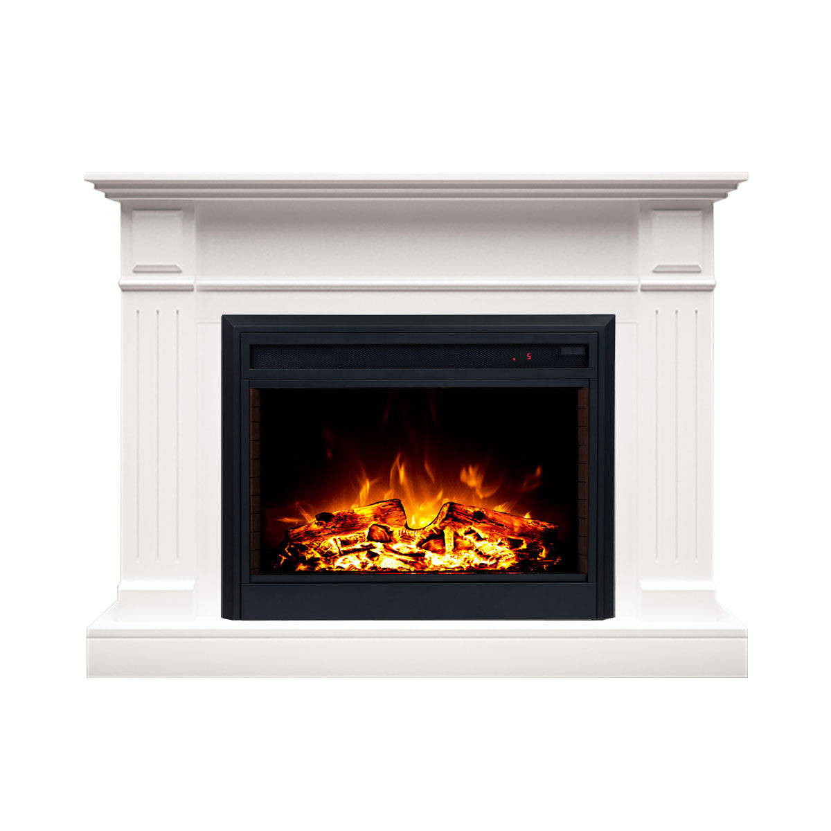 Brilliant Berwick 2000W Electric Fireplace Heater Mantel Suite White Download Free Architecture Designs Jebrpmadebymaigaardcom