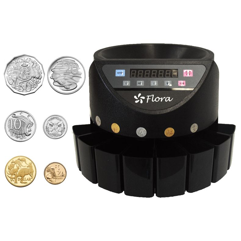 counting coins machine