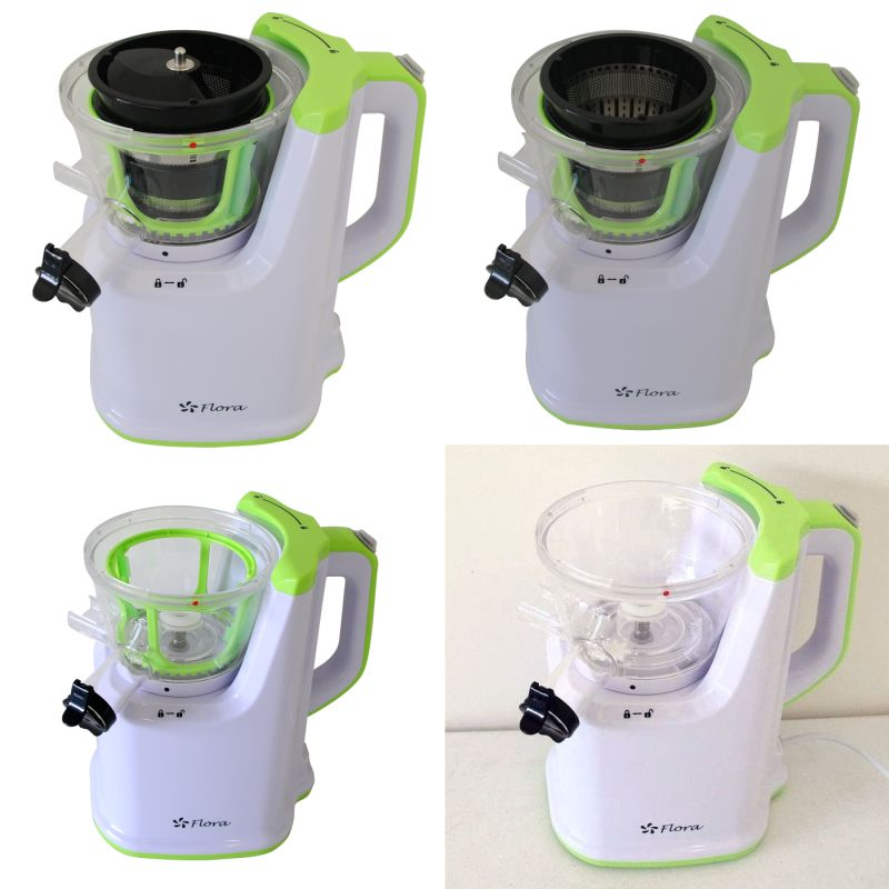 Flora Slow Juicer Review : Fruit & vegetable Home Slow Juicer Machine 250W Buy Juicers