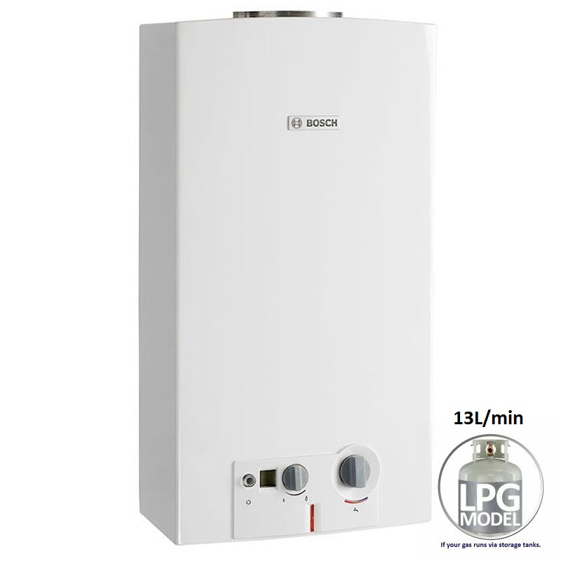how to fix bosch hot water system