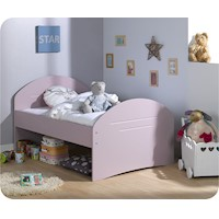 Spoom Extendable Toddler Bed Frame Pink 140-190cm