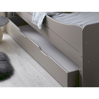 Feroe Kids Single Under Bed Drawer in Satin Cream