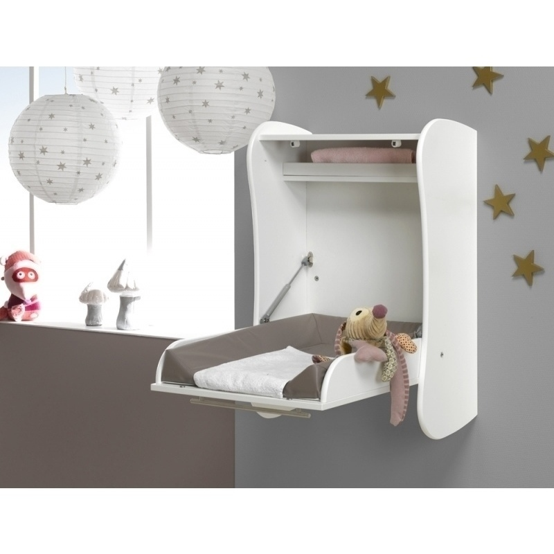 Wall Mounted Baby Changing Table Drop Down White Buy