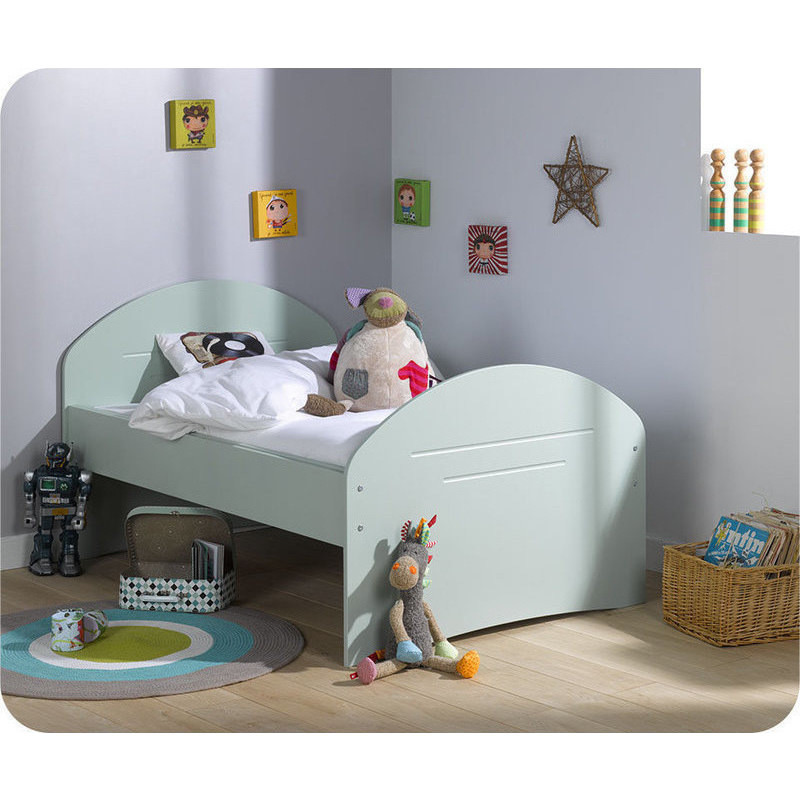 Spoom Extendable Toddler Bed Frame Green 140 190cm