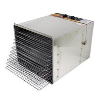 Stainless Steel 10 Tray Food Dehydrator 1200W