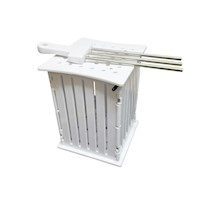 Quick Brochette Skewer Kebab Maker Box 36 Hole