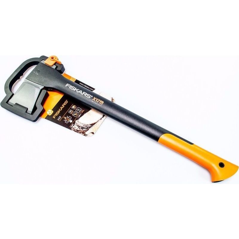 fiskars x17 medium splitting axe with hooked handle buy axes. Black Bedroom Furniture Sets. Home Design Ideas