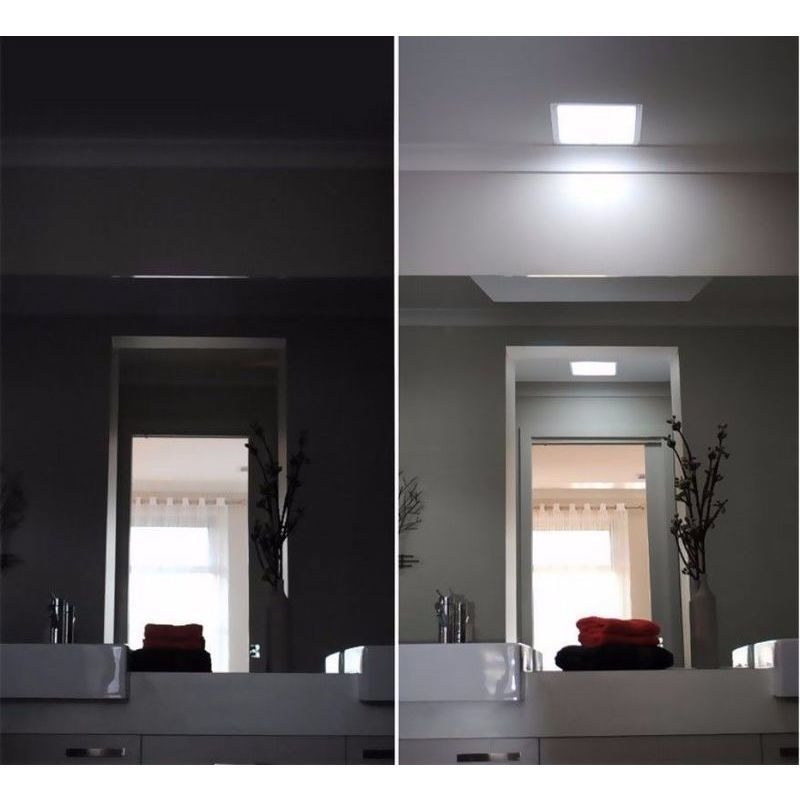 Illume Square Shaftless Roof Skylight 300mm Silver Buy