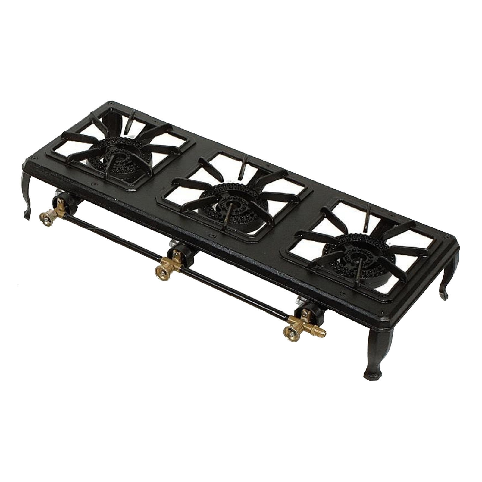Bromic Triple (3) Burner Country Cooker, 1/4 Male Connection, 36MJ heat  output (2 75kpa) - CC300