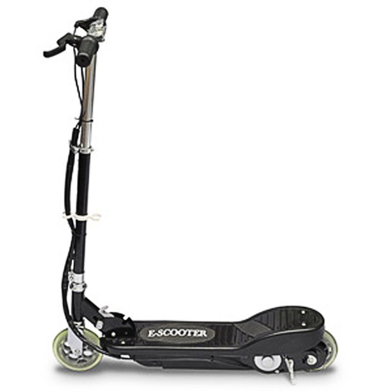Kids collapsible electric scooter in black 120w buy for Motorized scooter black friday