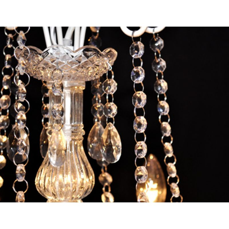 Elegant 900 Crystal Pendant Glass Chandelier White Buy