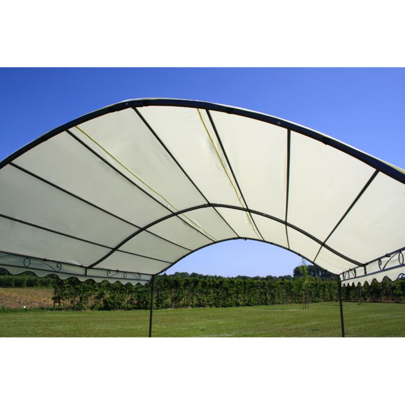 Dome Outdoor Portable Fabric Gazebo Canopy In Cream Buy Portable Gazebos